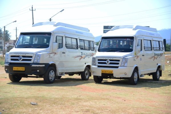 Tempo Traveller Rent From Mysore To Coorg Madikeri @ Rs 14